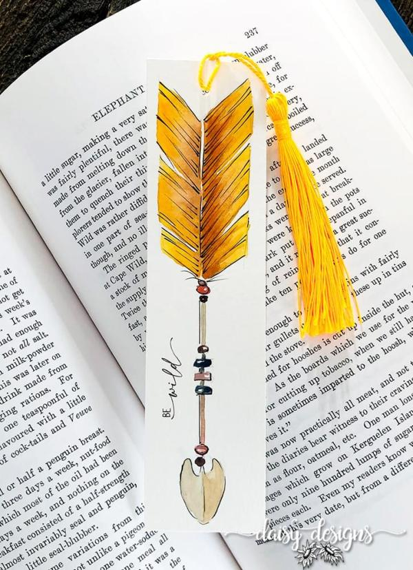 Be Wild Bookmark - Sunset