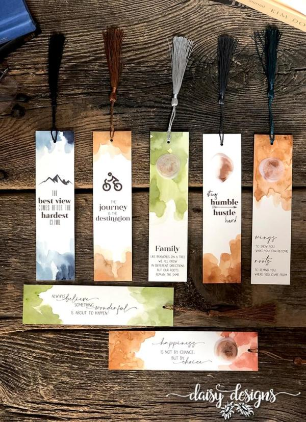 Earthy Bookmark group