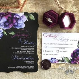 Victorian Eminence invite and rsvp