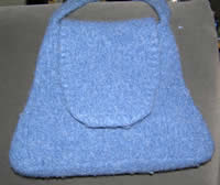 cascade 220 felted purse