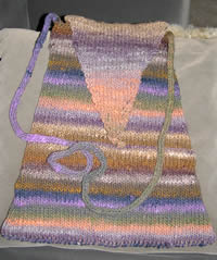 noro purse to be felted