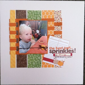 The best part... Sprinkles!