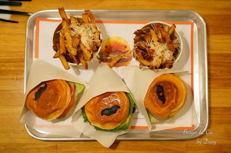 Burger &CO, 鬍子漢堡, 信義安和站, 台北美食, 台北漢堡, 台北美式餐廳, 大安區美食