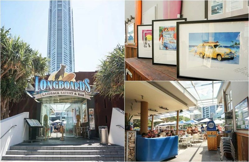 longboards, 衝浪者天堂, 漢堡, 黃金海岸美食, goldcoast, surfing-paradise-food, hamburger