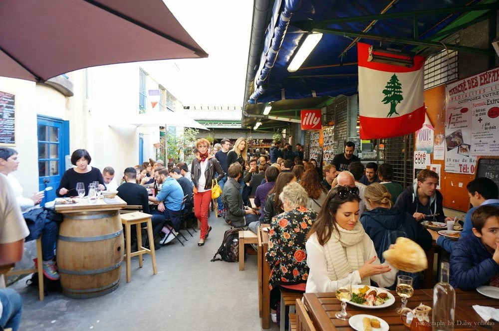 巴黎旅遊景點, 紅孩兒市集, 巴黎市集, 法國市集, 巴黎景點, 巴黎傳統市集, 三明治, 巴黎小吃, 法國小吃, 可麗餅, 巴黎美食