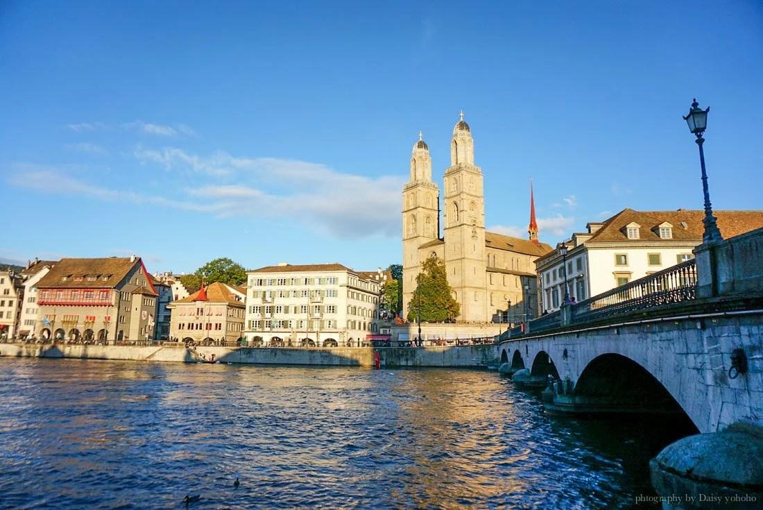 蘇黎世, 瑞士自由行, zurich, 瑞士自駕, 歐洲旅遊, 蘇黎世舊城區