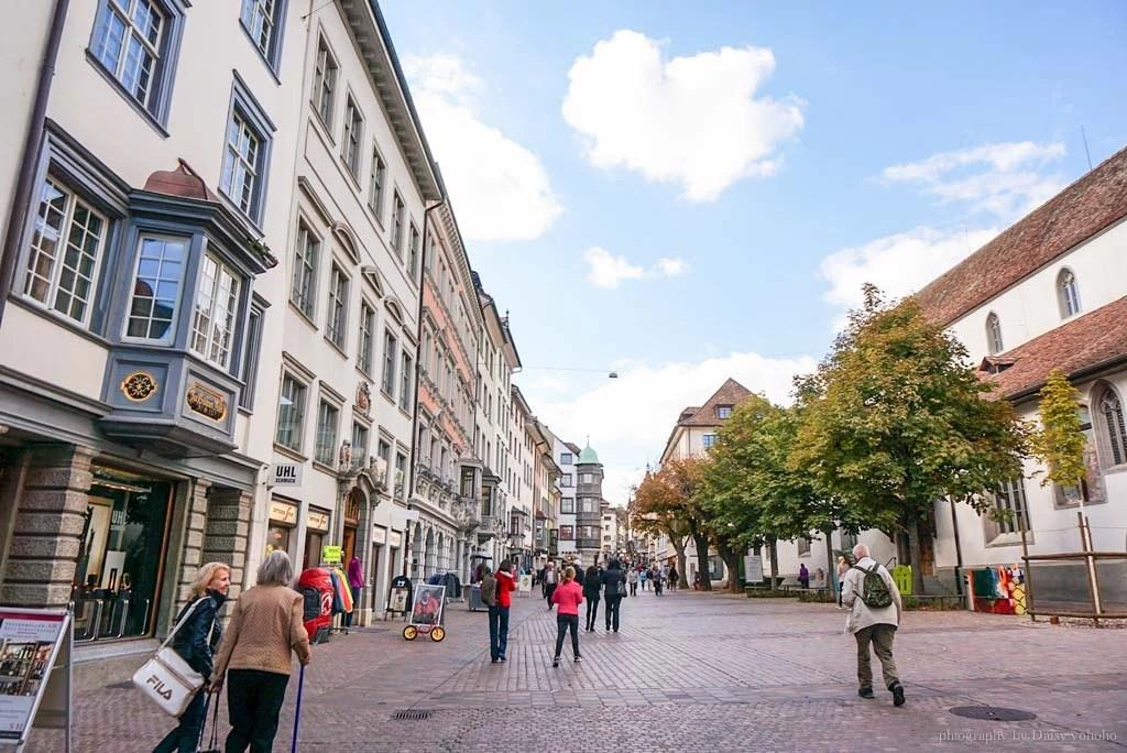 Schaffhausen, 瑞士城市, 瑞士景點, 沙夫豪森, 圓形廣場, 瑞士小鎮, 瑞士自助, 瑞士火車, 瑞士自駕