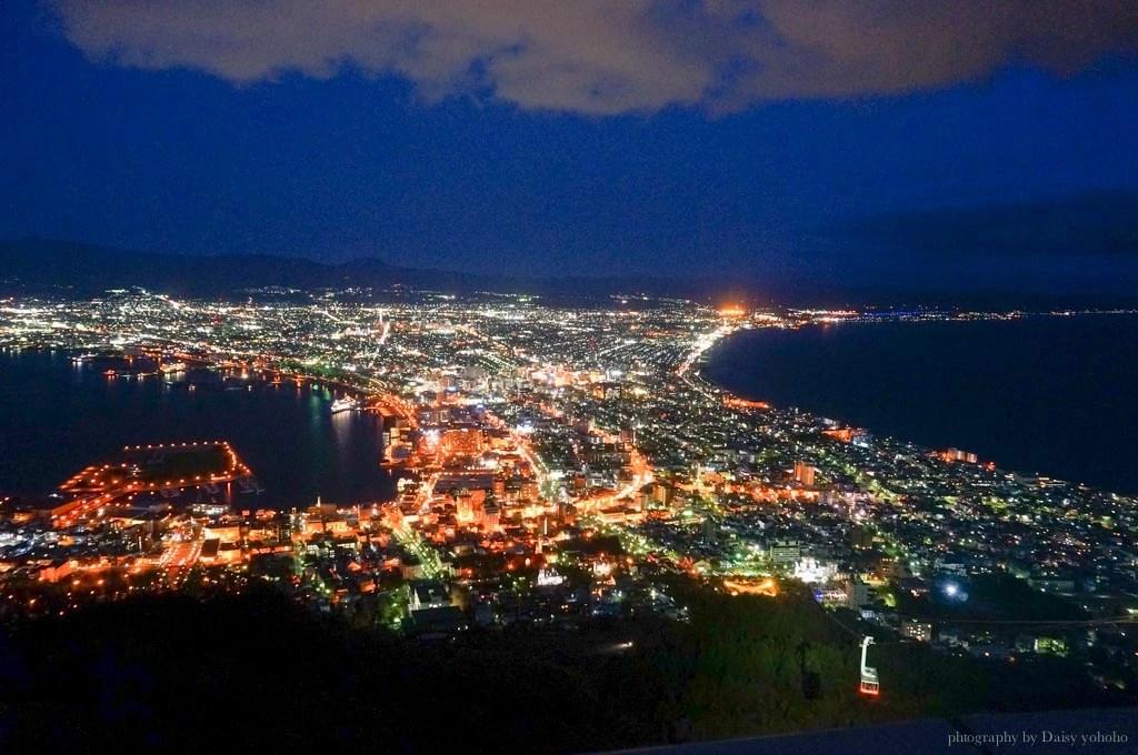 北海道, 函館景點, 北海道函館, 函館山夜景, 日本百萬夜景, 函館纜車, 日本旅遊, 北海道自助旅行
