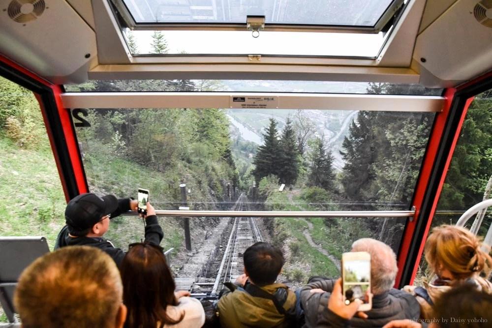 Harder Kulm, 哈德昆觀景台, 茵特拉肯, interlaken, 瑞士自由行, 瑞士自助旅行, 瑞士纜車, 瑞士景點