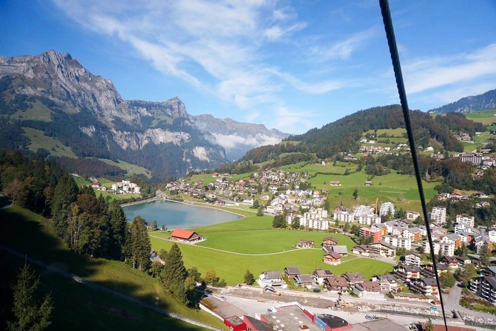 titlis, 鐵力士山, 瑞士自由行, 瑞士自助旅行, 瑞士纜車, 旋轉纜車, 英格堡, 鐵力士峰