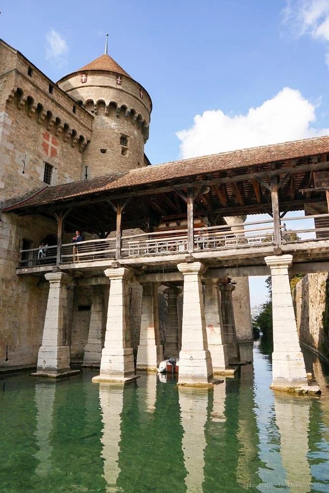 Chateau-de-Chillon, 西庸古堡, 西雍古堡, 瑞士自由行, 瑞士自助旅行, 瑞士城堡, 瑞士法語區