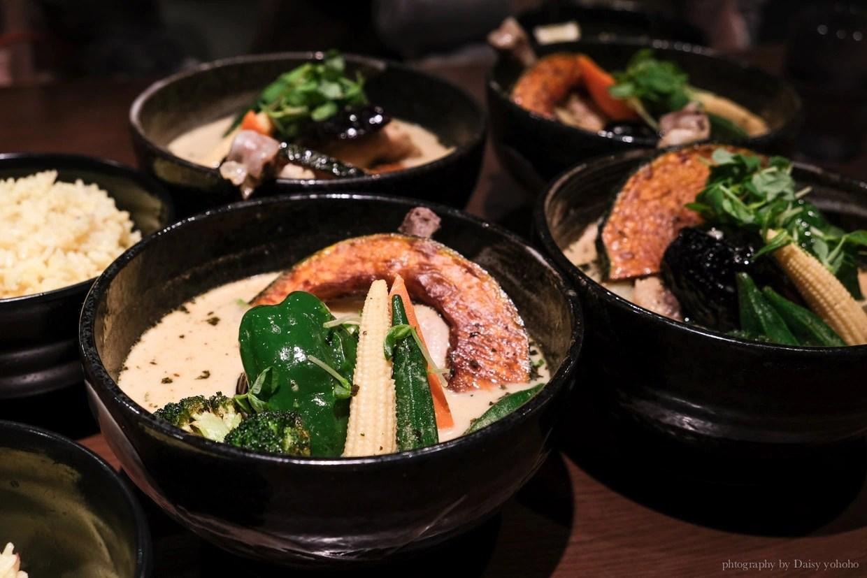 Soup Curry, 湯咖哩, 札幌美食, 札幌湯咖哩, 北海道美食, 狸小路商店街