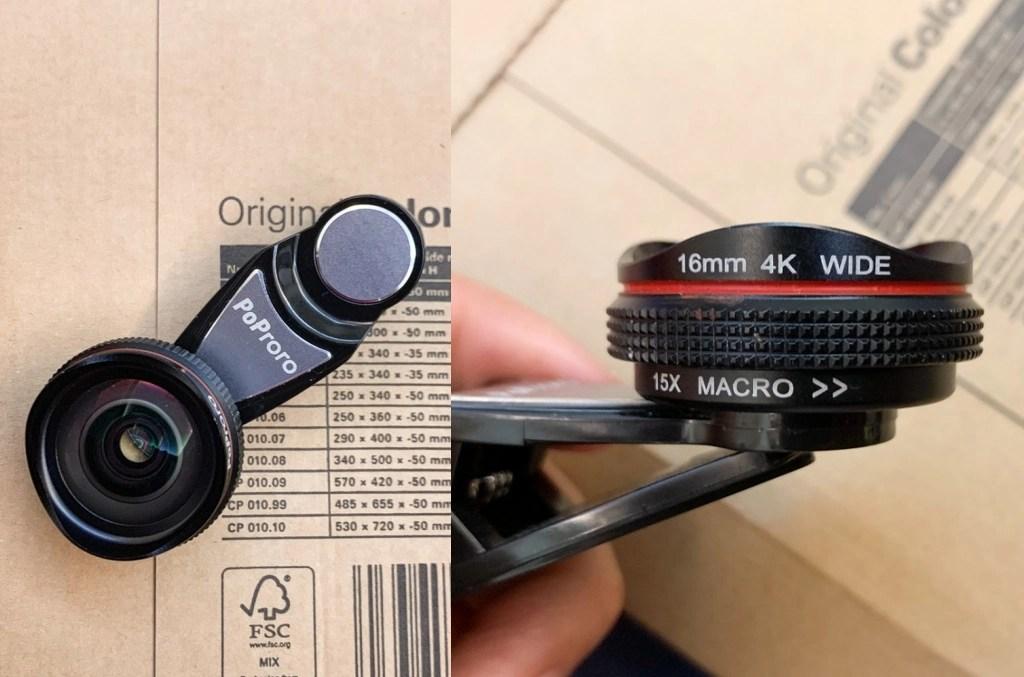 PoProro, 4k單眼級手機鏡頭, 手機廣角鏡, iphone 手機自拍, 自拍廣角鏡, 網美必備