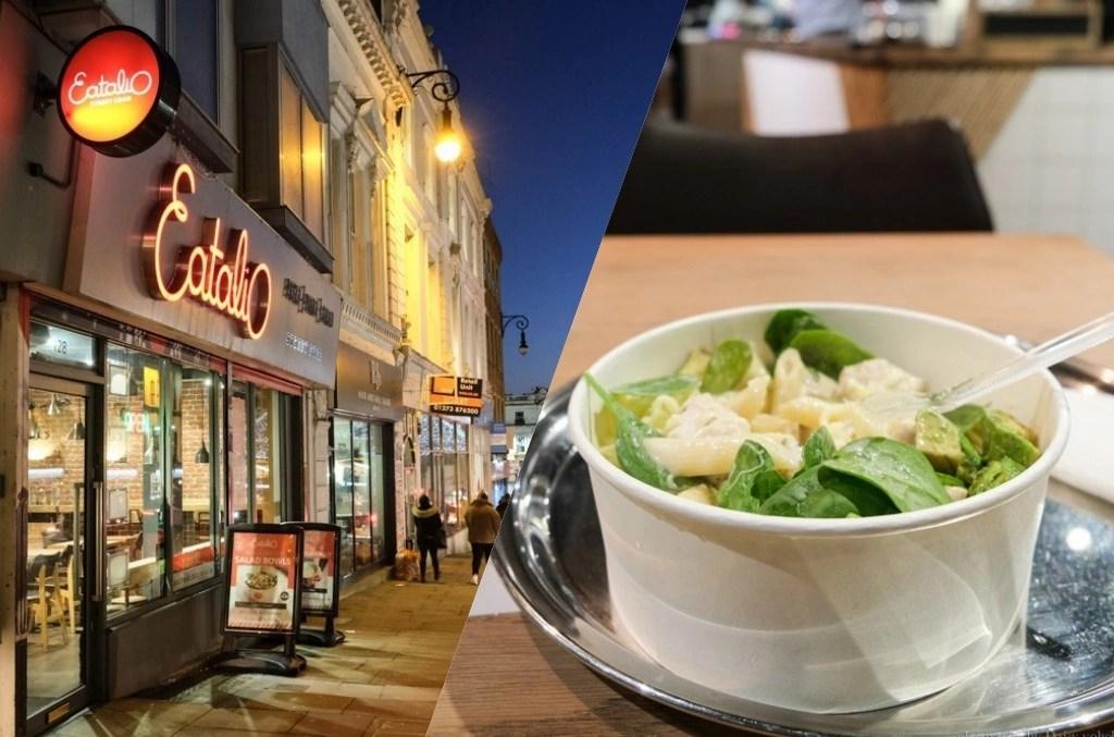 Eatalio, 布萊頓美食, Brighton 義大利麵, 義大利料理, 英國布萊頓美食, 酪梨料理, 速食餐廳