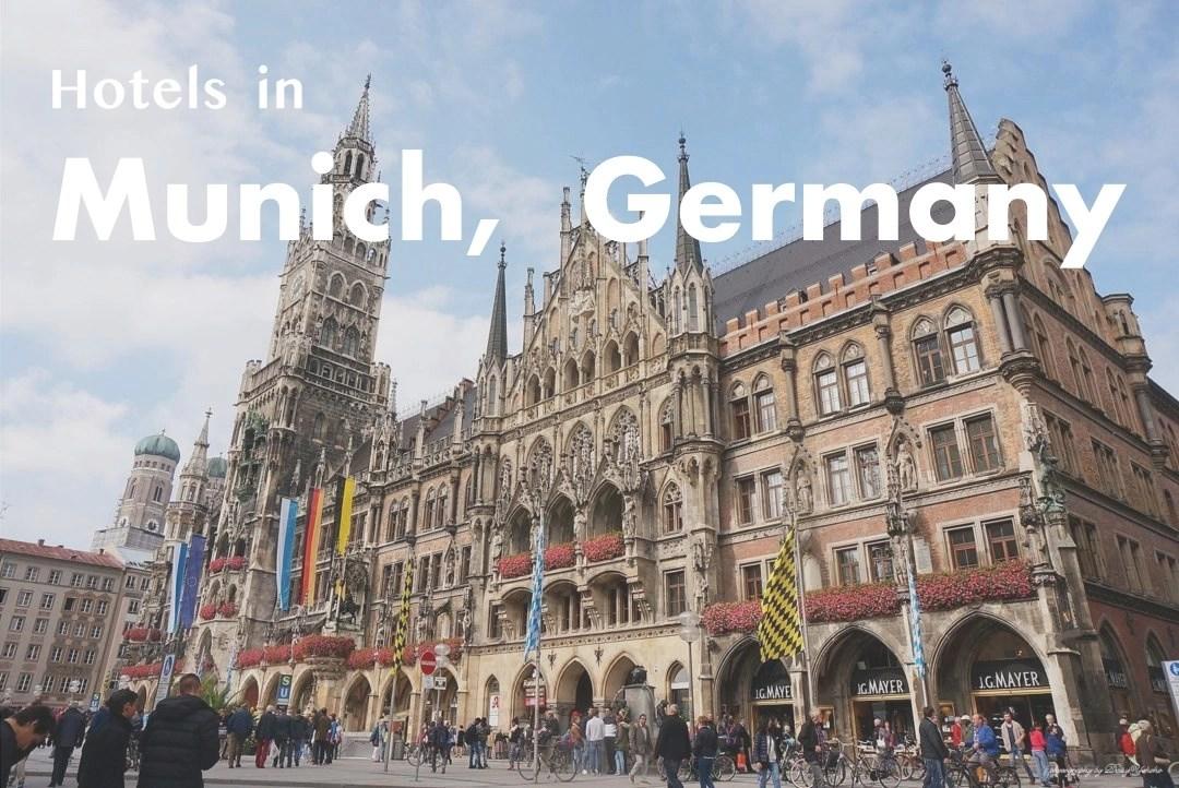 慕尼黑住宿, 慕尼黑飯店, 慕尼黑住哪裡