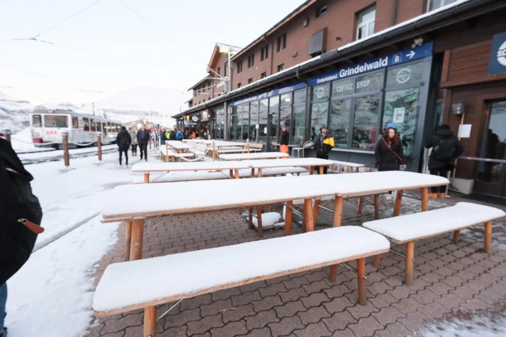 Bergrestaurant Kleine Scheidegg, 小夏戴克美食, 少女峰餐廳, 小夏戴客餐廳, 少女峰區美食, 瑞士美食, 盧達本納