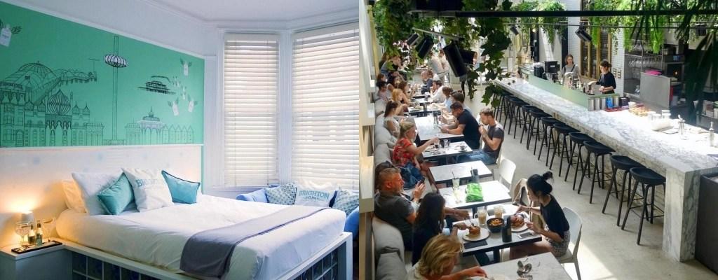 布萊頓住宿, brighton 飯店, brighton 青年旅館, 英國自助, 英國自由行