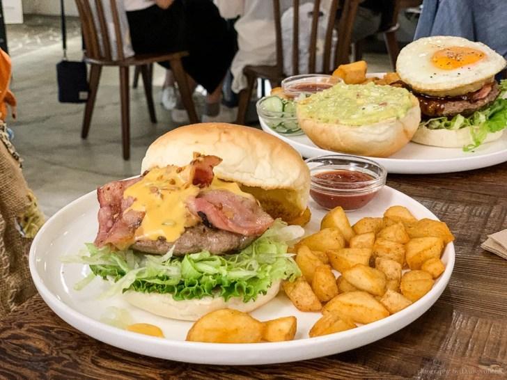 waku waku burger 1 - 台北吳興街 WakuWaku Burger わくわく 信義店,吳興街早午餐,好吃漢堡包!