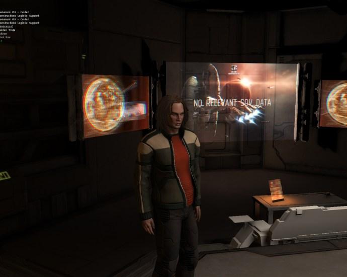 DaiTengu in Captain's Quarters Alpha