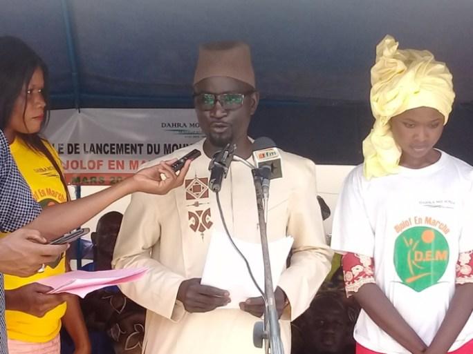 Idrissa Samb, inspecteur des Impôts et Domaines, président du mouvement Djolof En Marche :