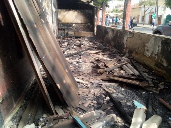 Kaolack / Incendie au restaurant chez Maty : La piste du sabotage non écartée... La propriétaire dépose une plainte au commissariat de Ndorong.