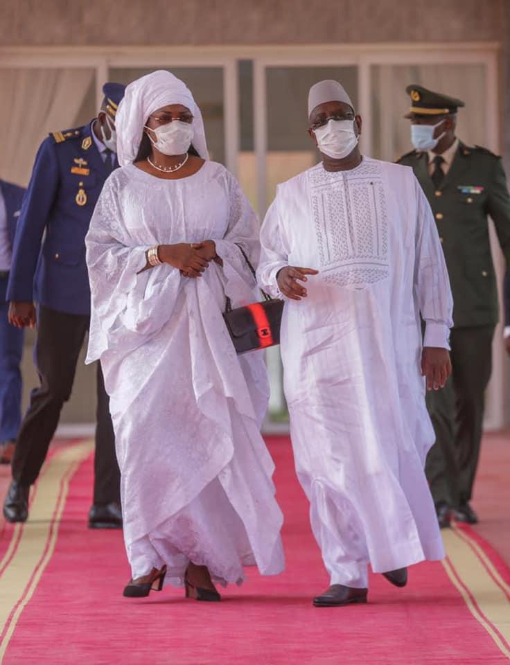 Macky et Marie%CC%80me Faye Sall a%CC%80 Nouakchott4 - Senenews - Actualité au Sénégal, Politique, Économie, Sport