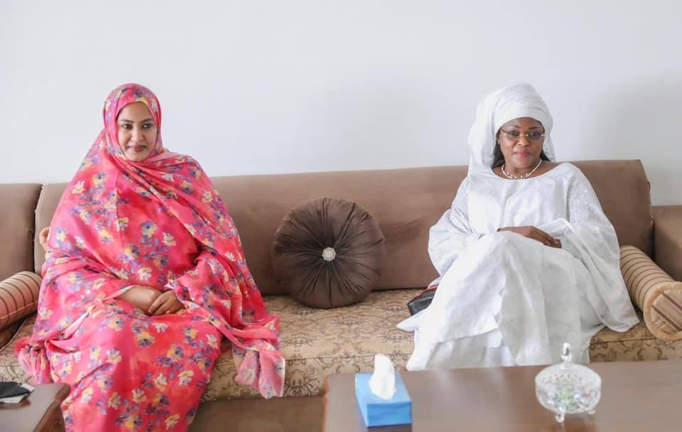 Macky et Marie%CC%80me Faye Sall a%CC%80 Nouakchott6 - Senenews - Actualité au Sénégal, Politique, Économie, Sport