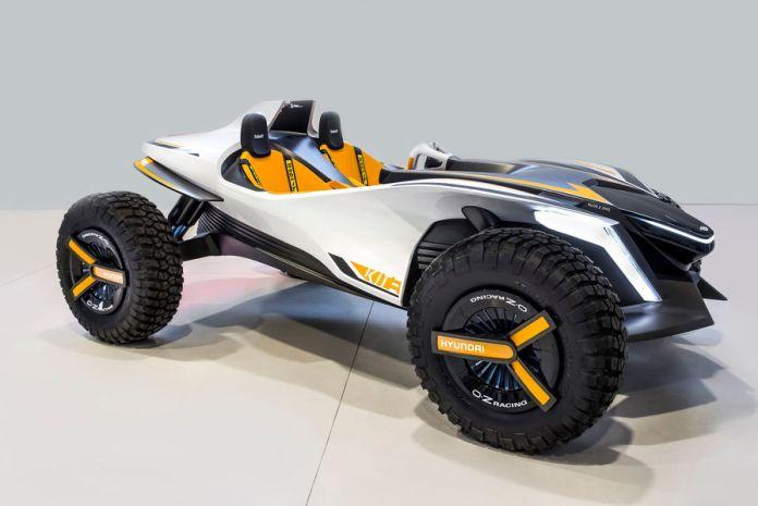 Un buggy / jet-ski nommé «Kite» de chez Hyundai présenté au Salon de Genève