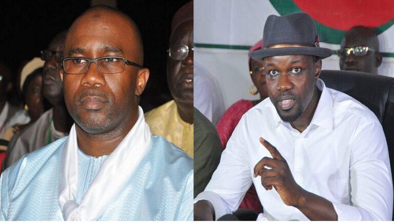 Ousmane Sonko et son rival Doudou ka se sont croisés à l'aéroport