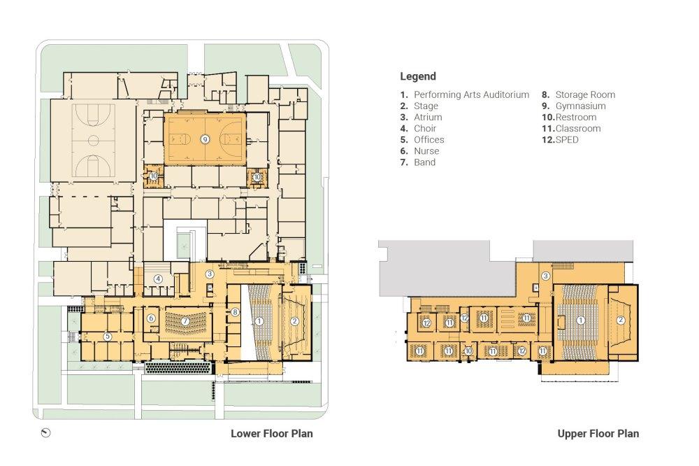 medium resolution of john f hodge high school renovation addition dake wells architecture springfield mo kansas city mo