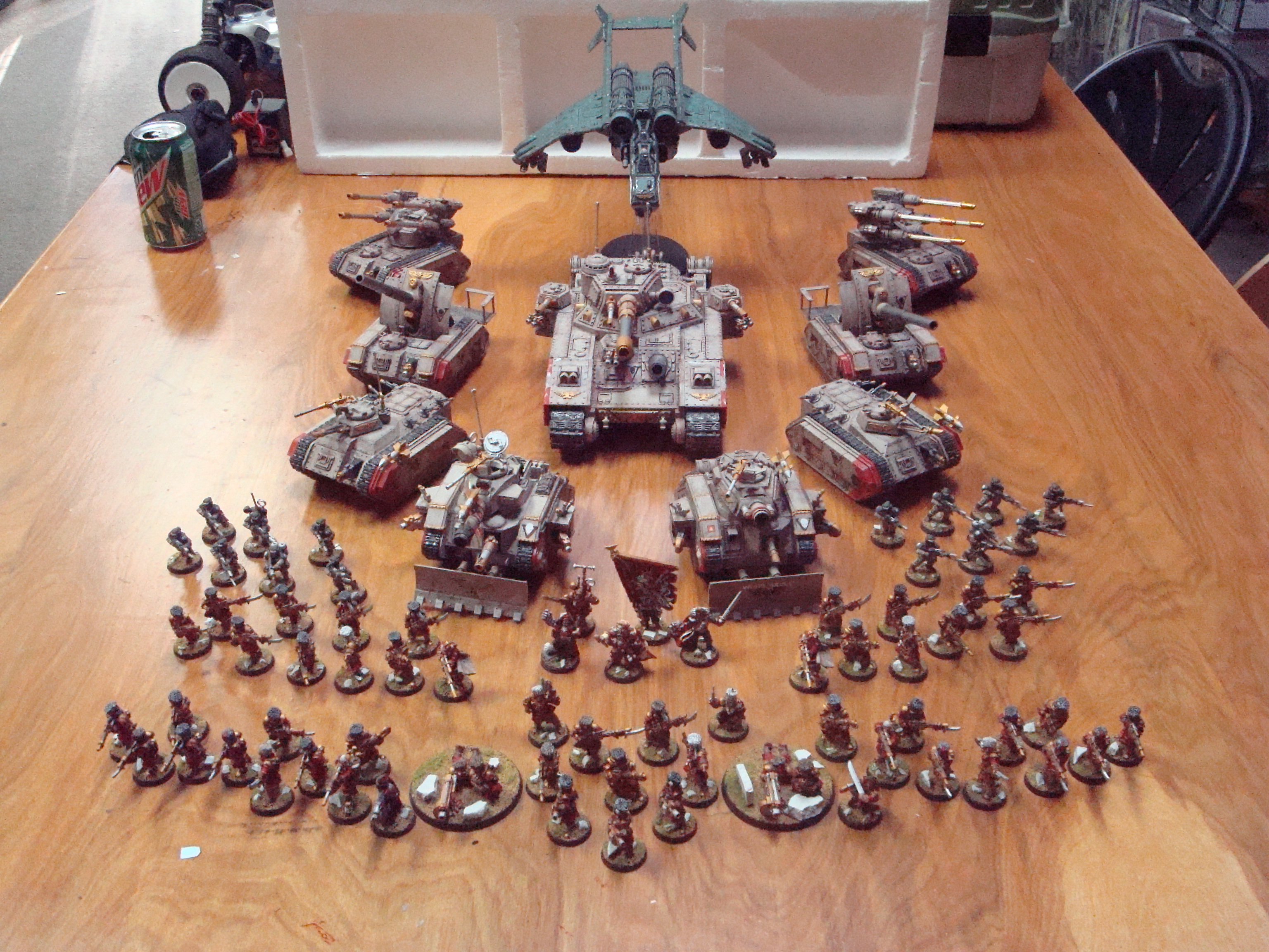 ImageImperial Guard Vostroyan Army  Articles  DakkaDakka