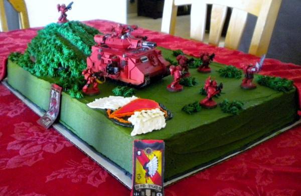Hobbes And Calvin Cake Birthday