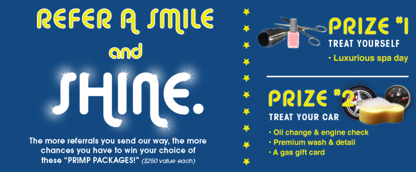 Visit Dental Clinic For Teeth Whitening Or Dental Implants Summer Referral Contest At Your Apple Valley Dental Clinic