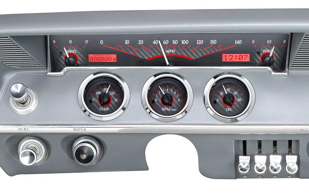 water temperature gauge wiring diagram 2005 nissan sentra fuse box 1961- 62 chevy impala vhx instruments