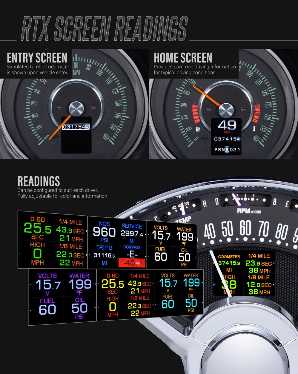 medium resolution of display information