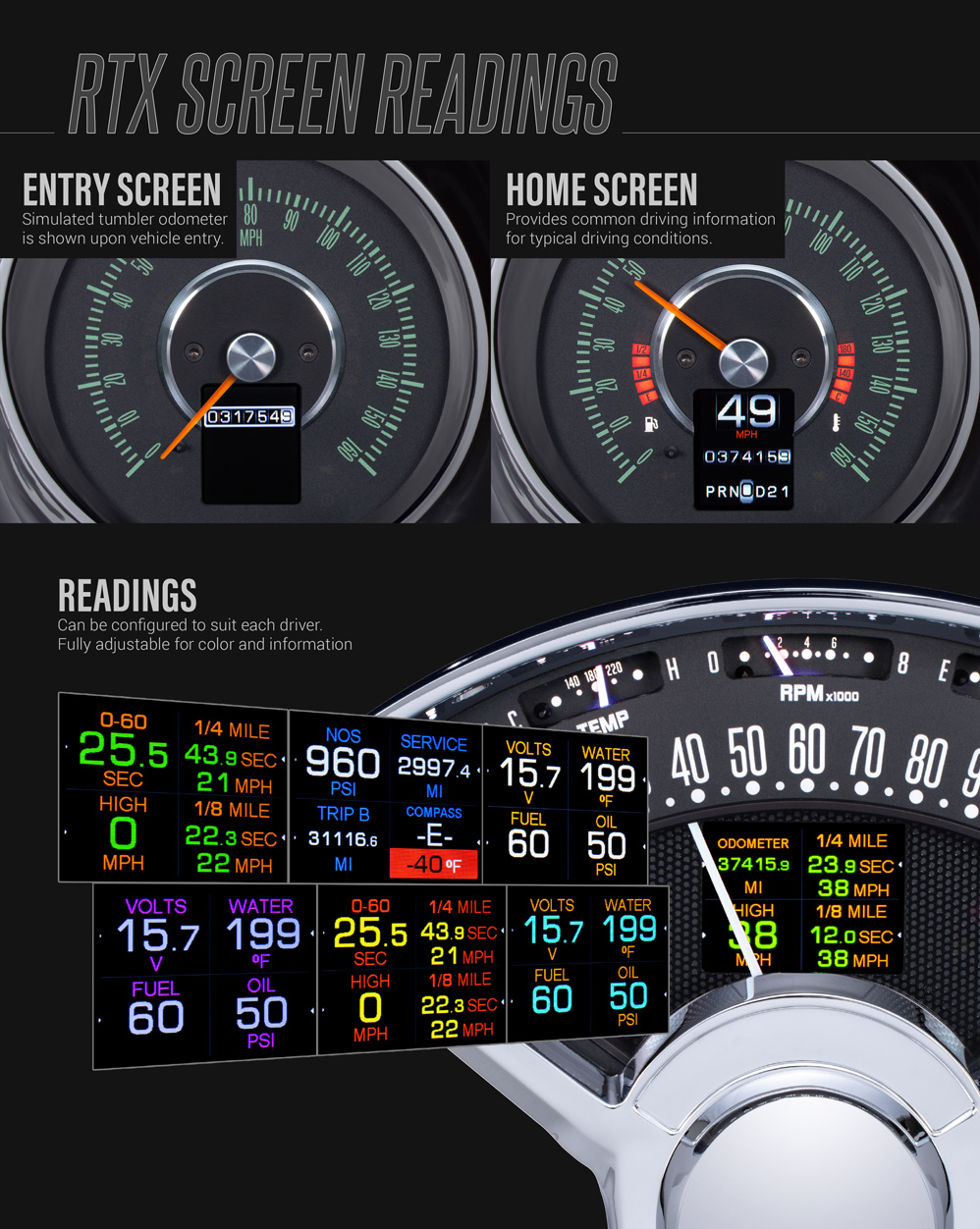 hight resolution of display information