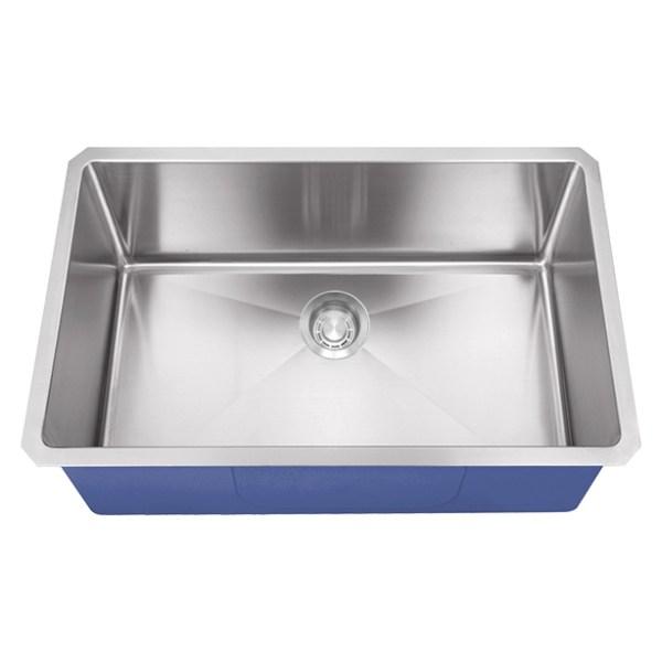 "Dakota Signature Series 32"" x 18"" Micro Radius Undermount 16 Gauge Stainless Steel Sink"