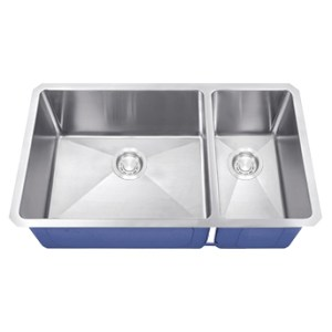 Dakota Signature Series 70/30 Micro Radius Undermount 16 Gauge Stainless Steel Sink