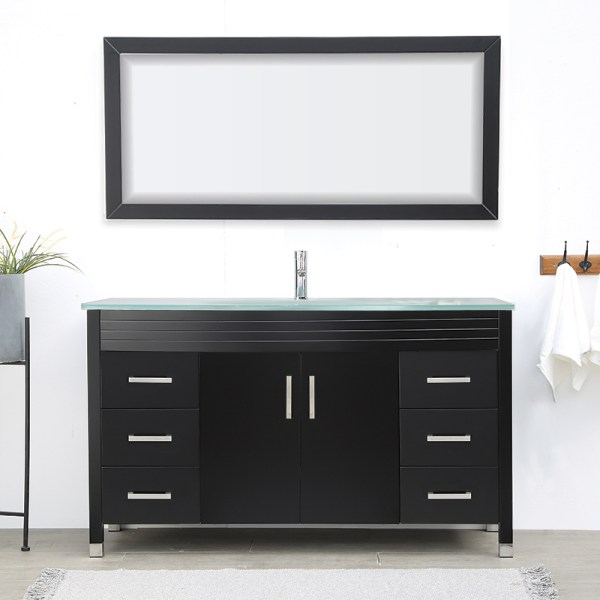 V-31-48-60-E large dark color vanity