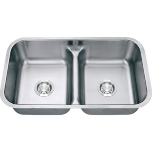 gs18-5050ld double bowl kitchen sink