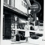 Ginnys first turquoise jewelry store black and white