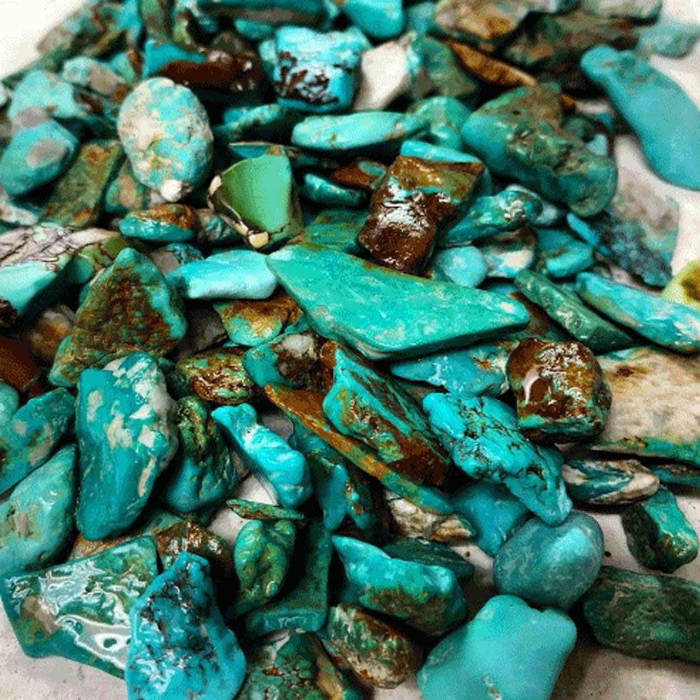 Easter Blue Turquoise stone
