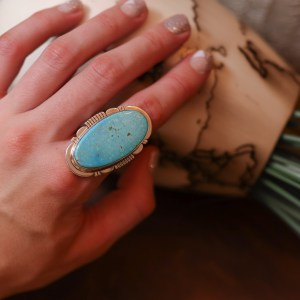 Kingman Ring Size 8.5