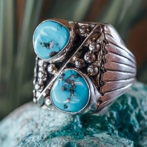 Sleeping Beauty Ring Sz. 10