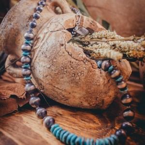 Kingman Heishi Necklace