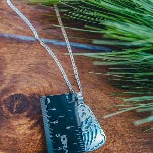 Hopi Sterling Silver Pendant