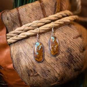 Boulder Turquoise Earrings