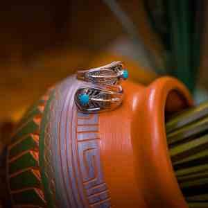 Sleeping Beauty Turquoise Adjustable Ring