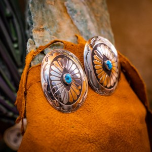 Sleeping Beauty Post Earrings