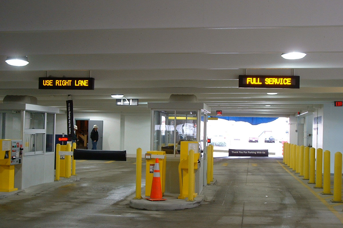 From entrance to exit choosing the right led displays for - Nearest garage to my current location ...